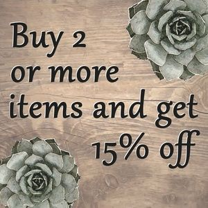 ⭐ Bundle 2 or more for 15% ⭐